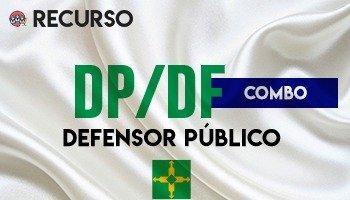 Recurso   Concurso   Defensor Público do Distrito Federal (DP/DF) (COMBO 02 PROVAS)