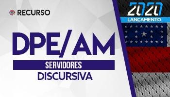 Recurso   Concurso   Defensoria Pública do Amazonas (DPE/AM) (Estudo de Caso)