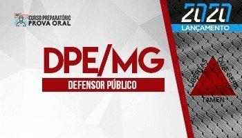 Curso Preparatório Prova Oral | Concurso Defensor Público de Minas Gerais (DPE/MG)