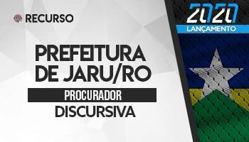 Recurso   Concurso   Prefeitura de Jaru