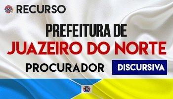 Recurso | Concurso | Prefeitura de Juazeiro do Norte