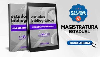 Sugestão Bibliográfica Magistratura Estadual - saiba os melhores materiais para Juiz!