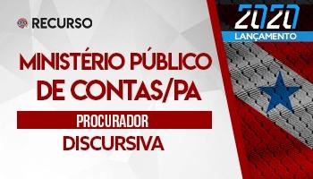 Recurso   Concurso   Ministério Público de Contas do Pará (MPC/PA)