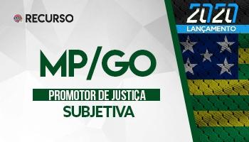 Recurso | Concurso | Promotor de Justiça do Mato Grosso (MP/GO) | Prova Subjetiva | 2ª Fase