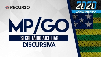 Recurso | Concurso | Secretário Auxiliar do Ministério Público de Goiás (MP/GO)