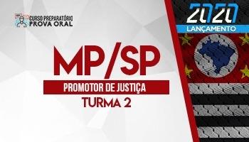 Curso Prova Oral | Preparatório Concurso | Promotor de Justiça de São Paulo (MP/SP) | Turma 2