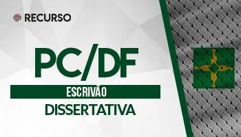 Recurso | Concurso | Escrivão da Polícia Civil do Distrito Federal | Prova Dissertativa