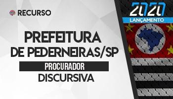 Recurso   Concurso   Prefeitura de Pederneiras/SP