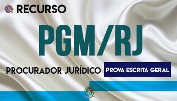 Recurso | Concurso | Procurador do Município do Rio de Janeiro (PGM/RJ)