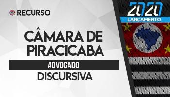 Recurso   Concurso   Câmara de Piracicaba/SP