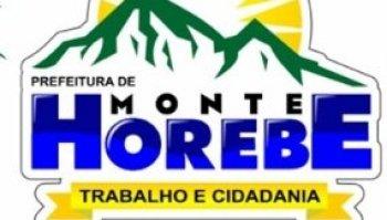 CONCURSO PREFEITURA DE MONTE HOREBE/PB (26/08/2019): Saiu o edital!!