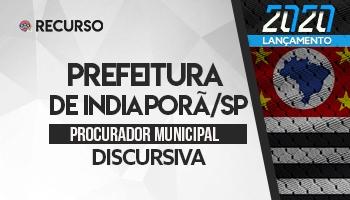 Recurso | Concurso | Procurador da Prefeitura de Indiaporã/SP