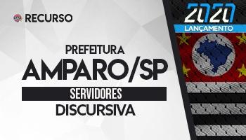 Recurso   Concurso   Prefeitura de Amparo/SP