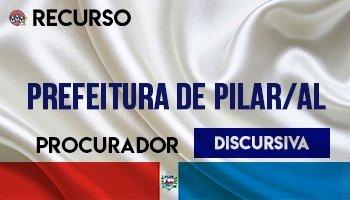 Recurso   Concurso   Procurador da Prefeitura de Pilar/AL