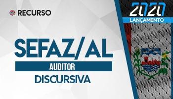 Recurso | Concurso | Auditor da SEFAZ/AL | Prova Discursiva
