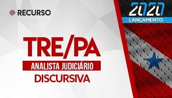 Recurso   Concurso   Analista Tribunal Regional Eleitoral do Pará (TRE/PA)   Prova Discursiva