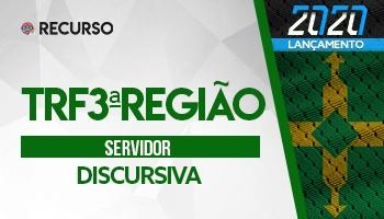 Recurso   Concurso   Tribunal Regional Federal 3ª Região (TRF3ª) (Servidores)
