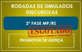 RODADAS DE SIMULADOS - 2ª FASE - MP/RS