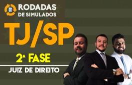Curso | Rodadas de Simulados | 2ª Fase | Concurso | Juiz de Direito de São Paulo (TJ/SP)