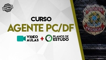 COMBO: CURSO RETA FINAL PARA CONCURSO DE AGENTE DE POLÍCIA CIVIL DO DISTRITO FEDERAL – PC DF + PLANOS DE ESTUDO