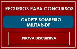 CADETE DO CORPO DE BOMBEIROS MILITAR/DF