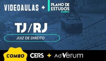 Combo Planos de Estudo Juiz de Direito + Videoaula TJ RJ