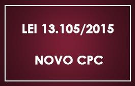 Novo CPC - Lei 13.105/2015