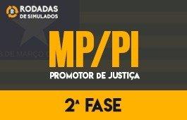 Curso | Rodadas de Simulados | 2ª Fase | Concurso | Promotor de Justiça do Piauí (MP/PI)