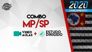 Combo: Curso para o Ministério Público de São Paulo – MP/SP – Promotor de Justiça + Estudos Dirigidos