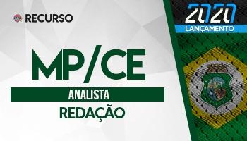 Recurso | Concurso | Analista do Ministério Público do Ceará (MP/CE) | Prova de Redação