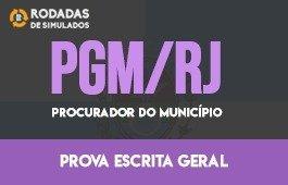Curso | Rodadas de Simulados | 1ª Fase | Procurador do Município do Rio de Janeiro (PGMRJ)