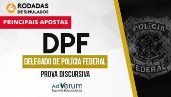 Curso | Concurso DPF | Delegado Federal | Prova Discursiva | Rodadas de Simulados | Principais apostas