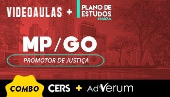 Combo Planos de Estudo Promotor de Justiça + Videoaula MP GO