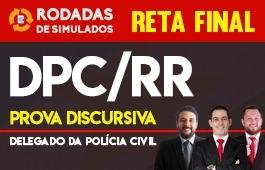 Curso | Rodadas de Simulados | Concurso | Delegado da Polícia Civil de Roraima (DPC/RR) | Reta Final