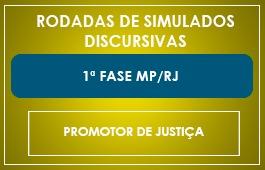 RODADAS DE SIMULADOS - 1ª FASE MP/RJ - RODADAS DE SIMULADOS