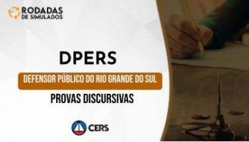 Curso | Concurso DPERS | Defensor Público do Rio Grande do Sul | Provas Discursivas | Rodadas de Simulados