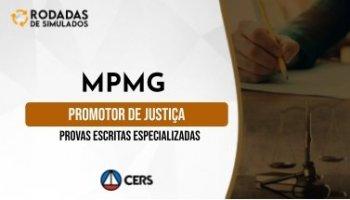 Curso | Concurso MPMG | Promotor de Justiça de Minas Gerais | Provas Escritas Especializadas | Rodadas de Simulados