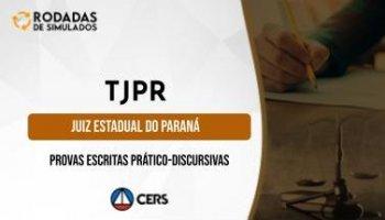 Curso | Concurso TJPR | Juiz Estadual do Paraná | Provas Escritas | Rodadas de Simulados