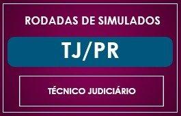RODADAS DE SIMULADOS - TÉCNICO TJ/PR