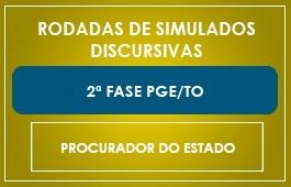 RODADAS DE SIMULADOS - 2ª FASE - PGE/TO