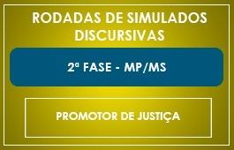 RODADAS DE SIMULADOS - 2ª FASE - PROMOTOR - MP/MS