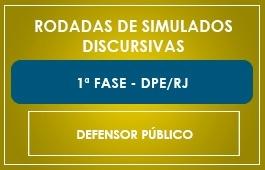 RODADAS DE SIMULADOS - 1ª FASE - DEFENSOR DPE/RJ
