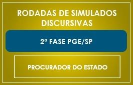 RODADAS DE SIMULADOS - 2ª FASE - PGE/SP
