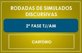 RODADAS DE SIMULADOS - 2ª FASE - CARTÓRIO/AM