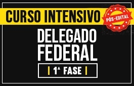 CURSO COMPLETO DELEGADO FEDERAL - PÓS EDITAL