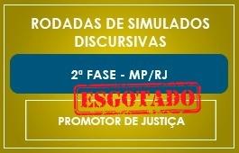 RODADAS DE SIMULADOS - CURSO 2ª FASE MP/RJ