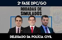CURSO RODADAS DE SIMULADOS 2 FASE DPCGO