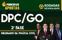Curso | Rodadas de Simulados | Concurso | Delegado da Polícia Civil de Goiás (DPC/GO) | 2ª Fase | Principais Apostas