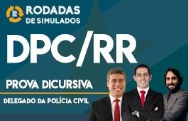 Curso   Rodadas de Simulados   Concurso   Delegado da Polícia Civil de Roraima (DPC/RR)