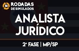 Curso   Rodadas de Simulados   Concurso   Analista Jurídico do Ministério Público de São Paulo   2ª Fase